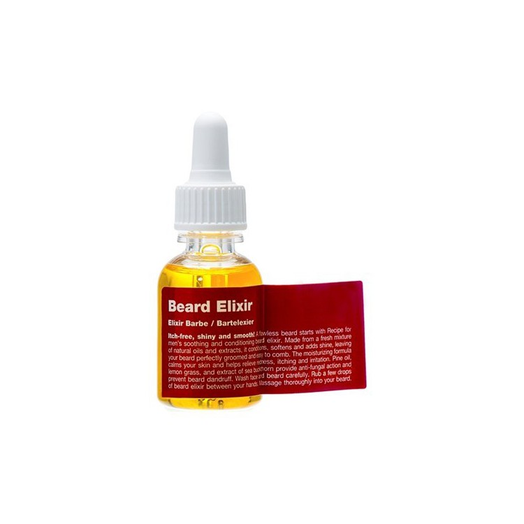 Exkluzivní olej na vousy RECIPE FOR MAN - Beard Elixir - 25 ml