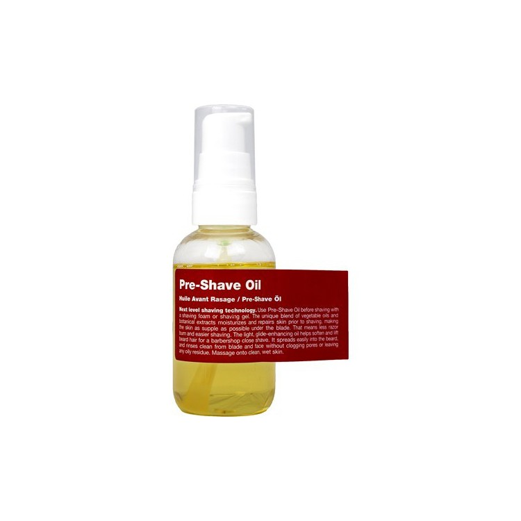 Exkluzivní olej na vousy RECIPE FOR MAN - Pre-Shave Oil - 50 ml
