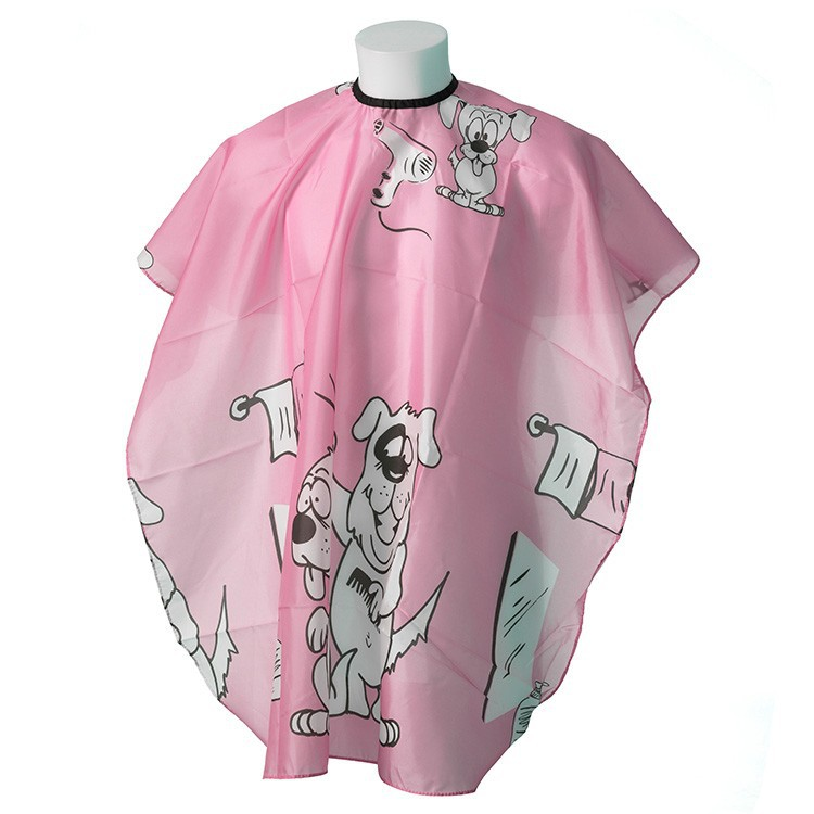 """Kadeřnická pláštěnka """"Dogy Pink"""" - dětská"""