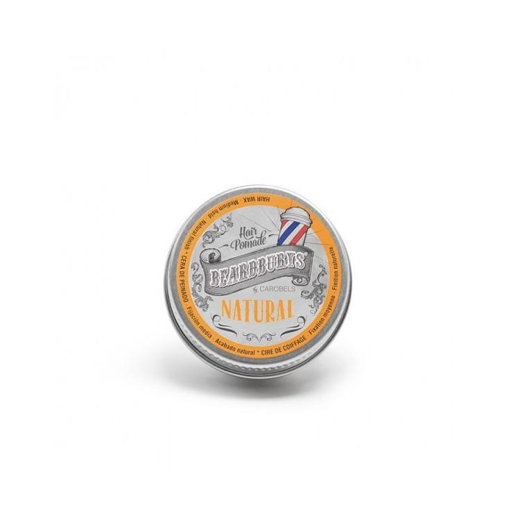 BEARDBURYS Natural - pomáda na vlasy - 15 ml