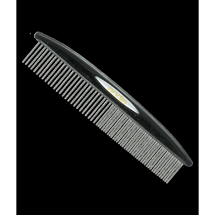 Kovový hřeben ANDIS 80595 Premium na srst - jednostranný - 18 cm