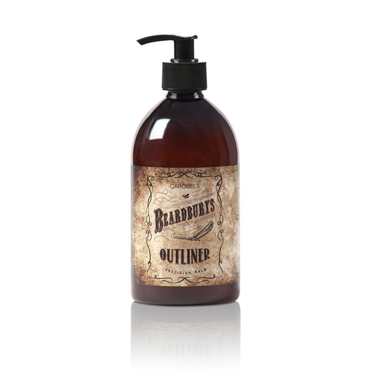 BEARDBURYS Outliner Emulsion - balzám na vousy - 500 ml.