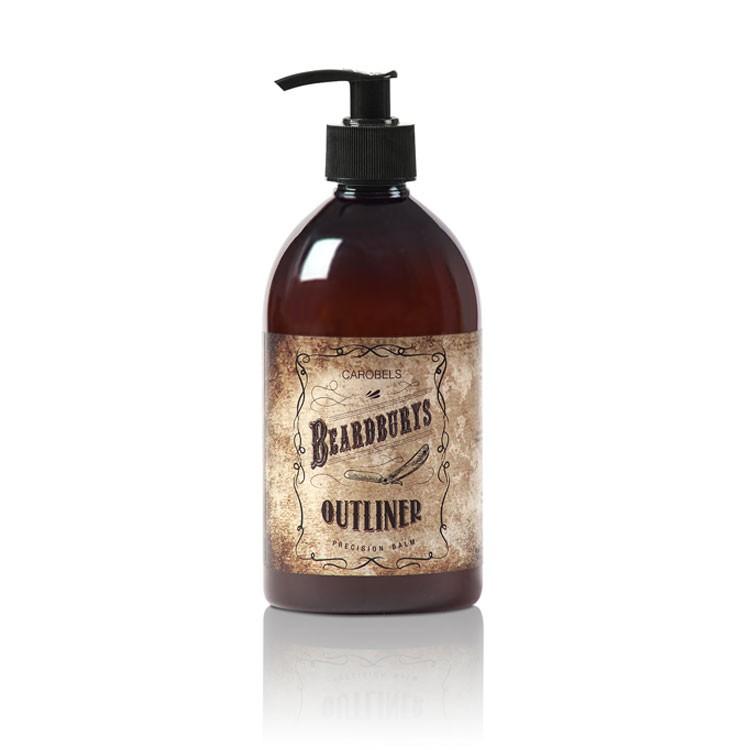 BEARDBURYS Outliner Emulsion - balzám na vousy - 500 ml.