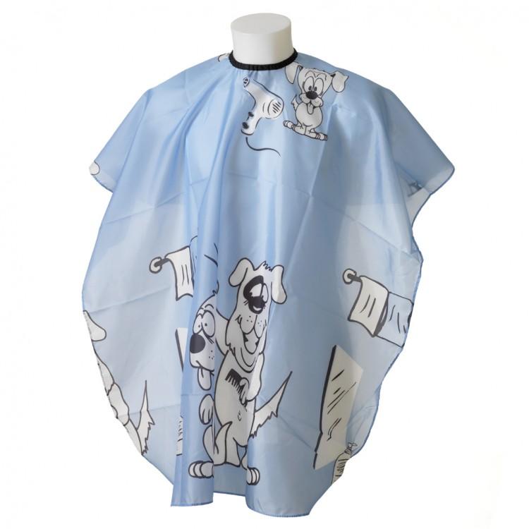 """Kadeřnická pláštěnka """"Dogy Blue"""" - dětská"""