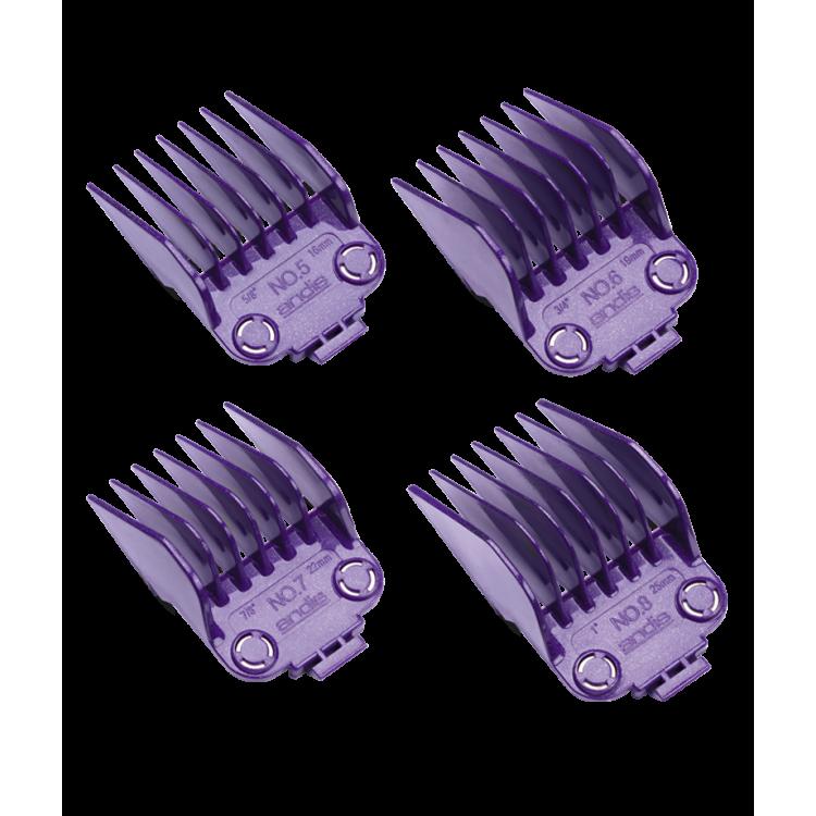 Přídavné hřebeny magnetické ANDIS 66320 - Set 4 ks