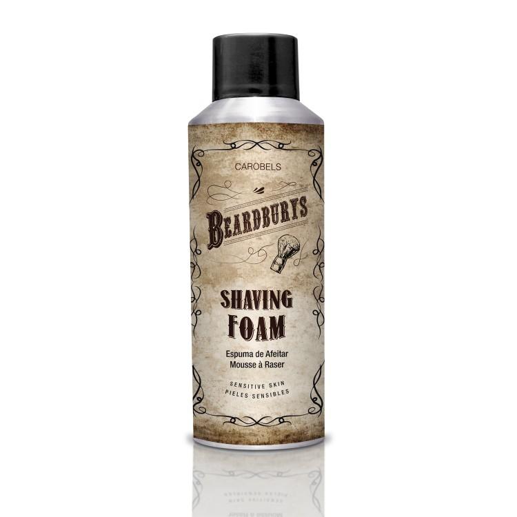 Holicí pěna ve spreji SHAVING-FOAM Beardburys - 200 ml. - pro citlivou pleť
