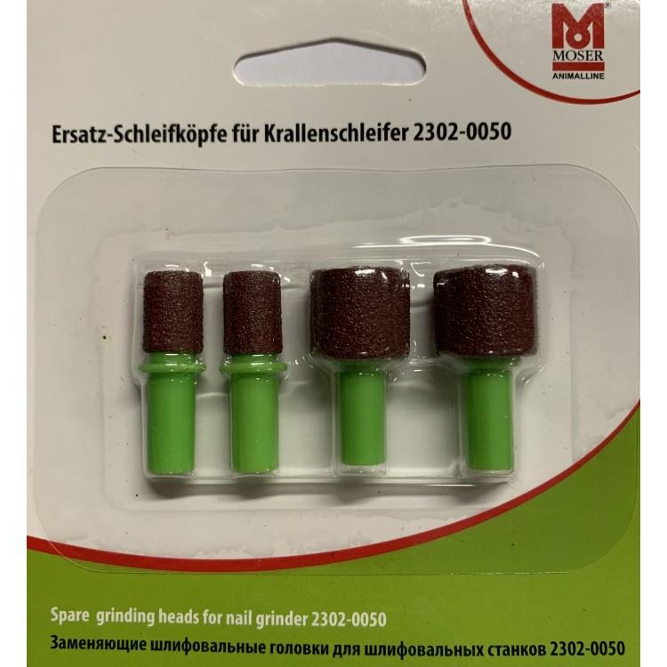 Náhradní brusné hlavice MOSER 2302-7000