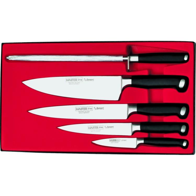 Souprava nožů BURGVOGEL Solingen 9500.951.00.0 Master Line - 5 dílná
