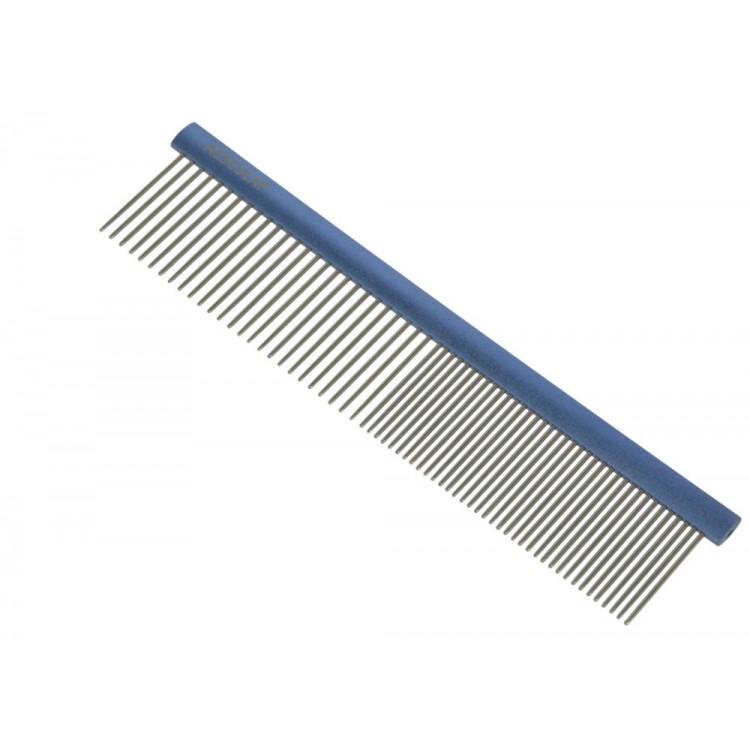 Kovový hřeben AESCULAP VH403 na srst - jednostranný - 247 cm