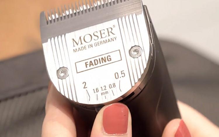 Nový střihací strojek MOSER 1874-0053 Genio Pro - Fading Edition